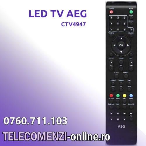 Telecomanda AEG model CTV4947
