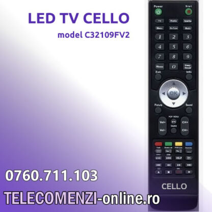 Telecomanda CELLO model C32109FV2