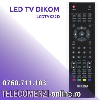 Telecomanda Dikom LCDTVK22D
