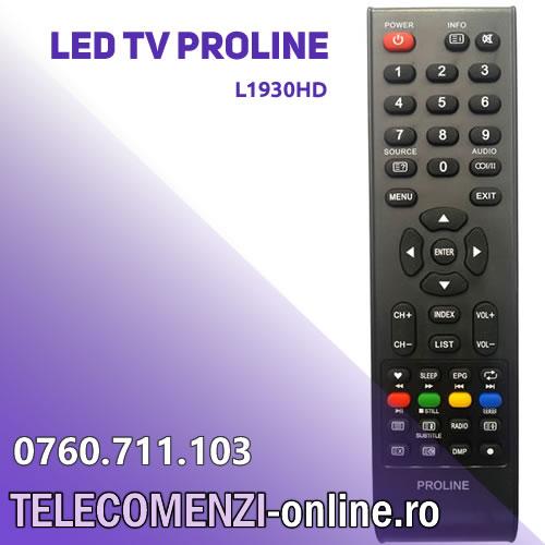 Telecomanda PROLINE L1930HD