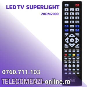 Telecomanda SUPERLIGHT 28DM2000