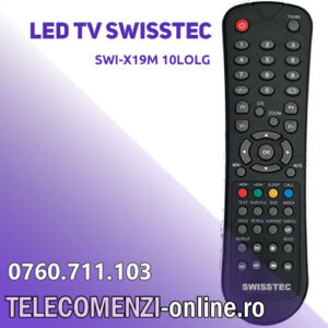 Telecomanda SWISSTEC SWI-X19M 10LOLG