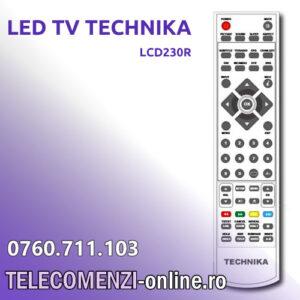 Telecomanda TECHNIKA LCD230R
