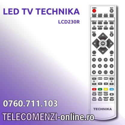 Telecomanda TECHNIKA model LCD230R