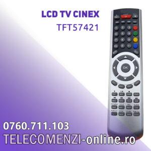 Telecomanda Cinex TFT57421
