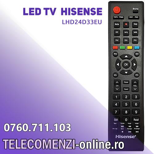 Hisense LHD24D33EU Remote control