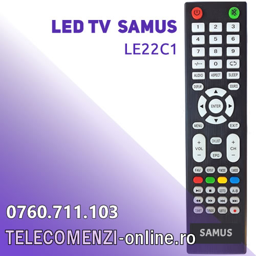 Telecomanda SAMUS LE22C1