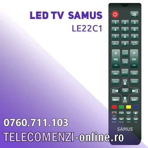 Telecomanda Samus LE24C2