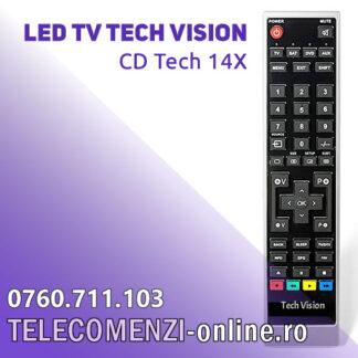 Telecomanda Tech Vision CD Tech 14X