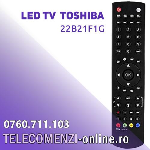 Telecomanda Toshiba 22B21F1G