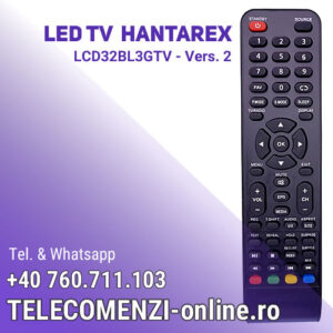 Telecomanda Hantarex LCD32BL3GTV vers. 2