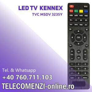 Telecomanda Kennex TVC MSDV 3235Y