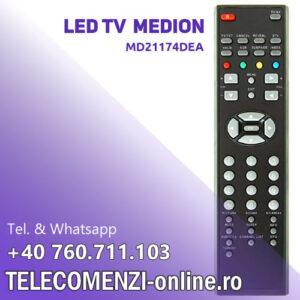 Telecomanda Medion MD21174DEA remote control