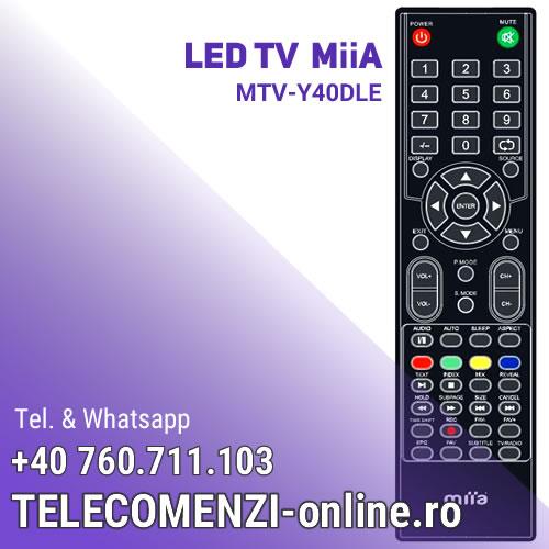 Telecomanda MiiA MTV-Y40DLE