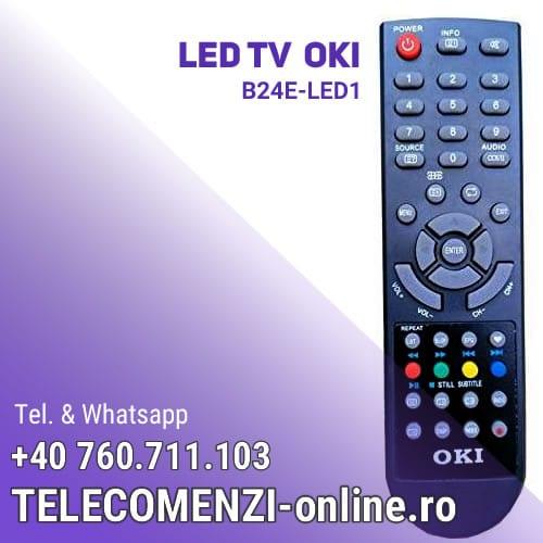 Telecomanda Oki B24E-LED1