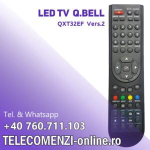 Telecomanda Q.Bell QXT32EF Vers. 2