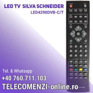 Telecomanda Silva Schneider LED4290DVB-CT