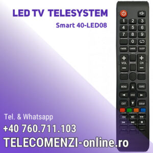 Telecomanda Telesystem Smart40-LED08