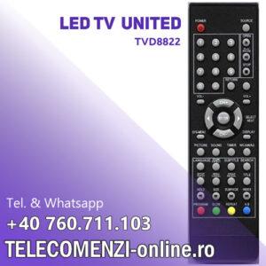 Telecomanda United TVD8822