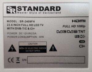 Standard SR2409 Eticheta