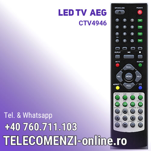 Telecomanda AEG CTV4946