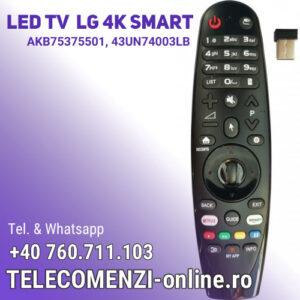 Telecomanda LG AKB75375501