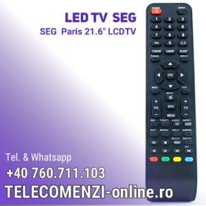 "Telecomanda SEG Paris 21.6"" LCDTV"