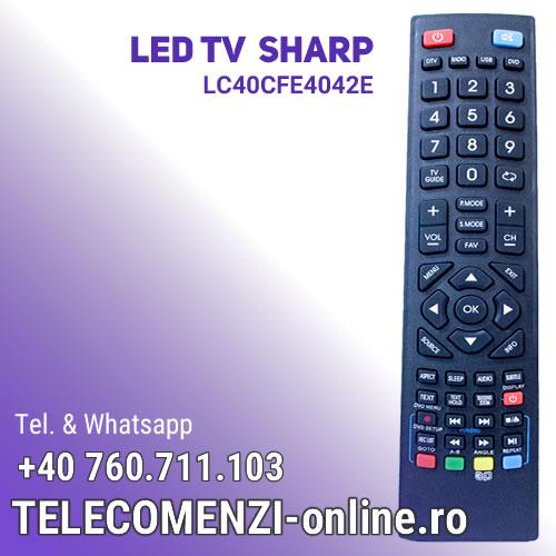 Telecomanda Sharp LC-40CFE4042E