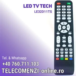 Telecomanda Tech LE32D11TS