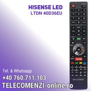 Telecomanda Hisense LTDN40D36EU