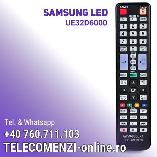 Telecomanda Samsung AA59-00507A, UE32D6000