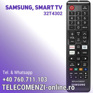 Telecomanda Samsung BN59-01315A, UE32T4302
