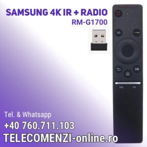 Telecomanda Samsung RM-G1700, Universala