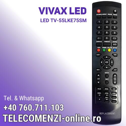 Telecomanda Vivax LED TV-55LKE75SM